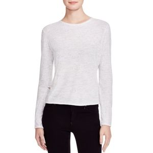 Monrow Long Sleeve Top with Elbow Cutouts sz. M